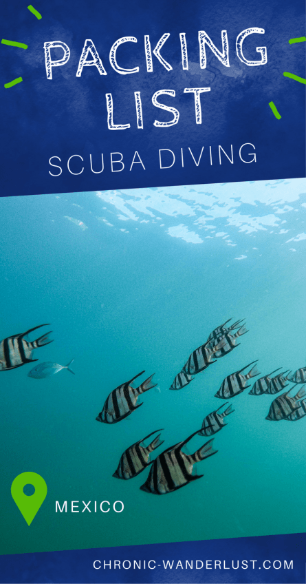 Packing List scuba diving mexico pinterest