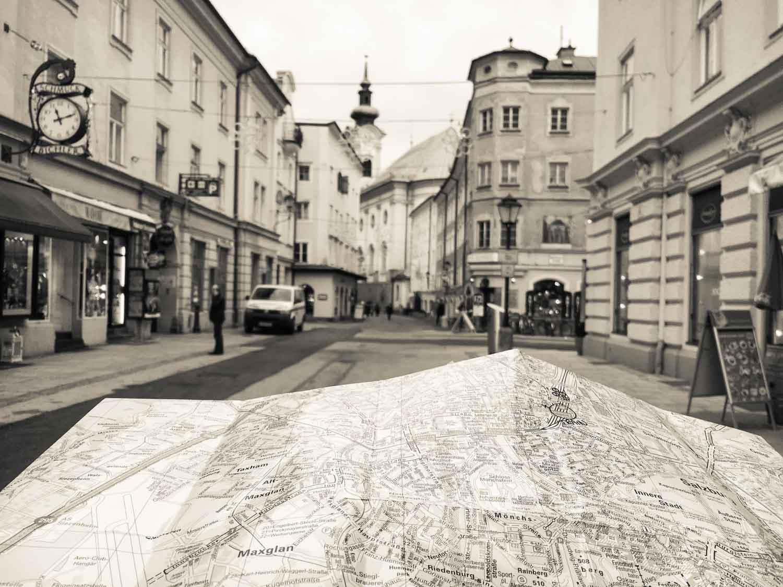 Experiencing Salzburg offline Chronic Wanderlust