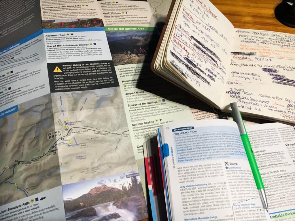 Jasper Nationalpark Reise planen