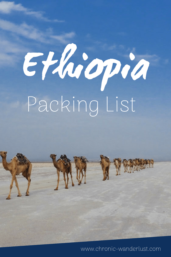Ethiopia packing list