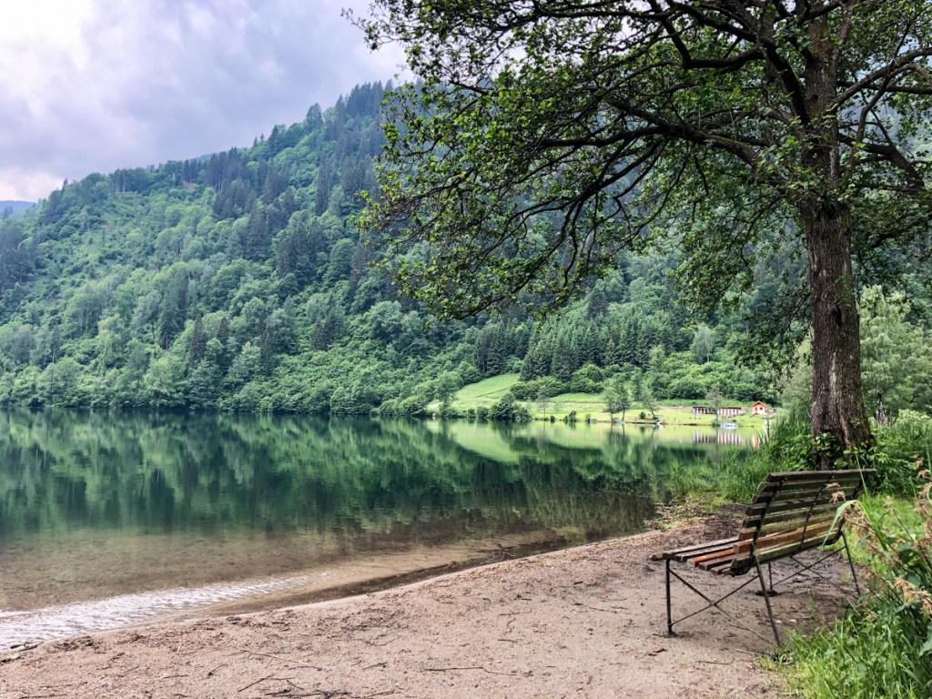 Tauchen Afritzer See Kärnten7