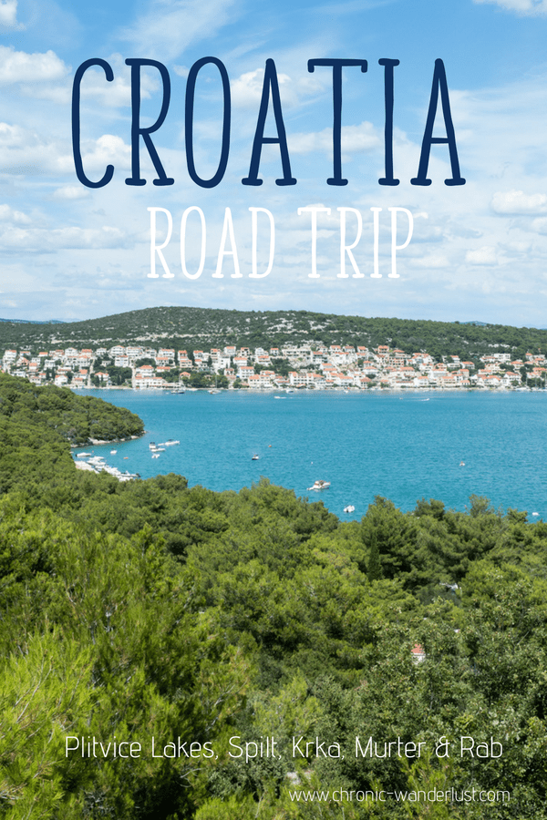 Croatia Road Trip Summer
