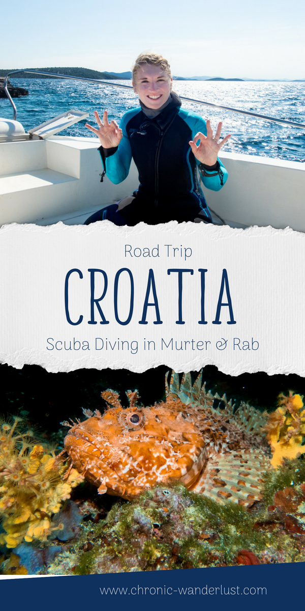 Croatia Scuba Diving Road Trip
