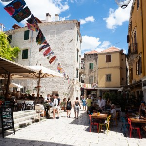 Roadtrip Kroatien Sibenik Altstadt Spaziergang