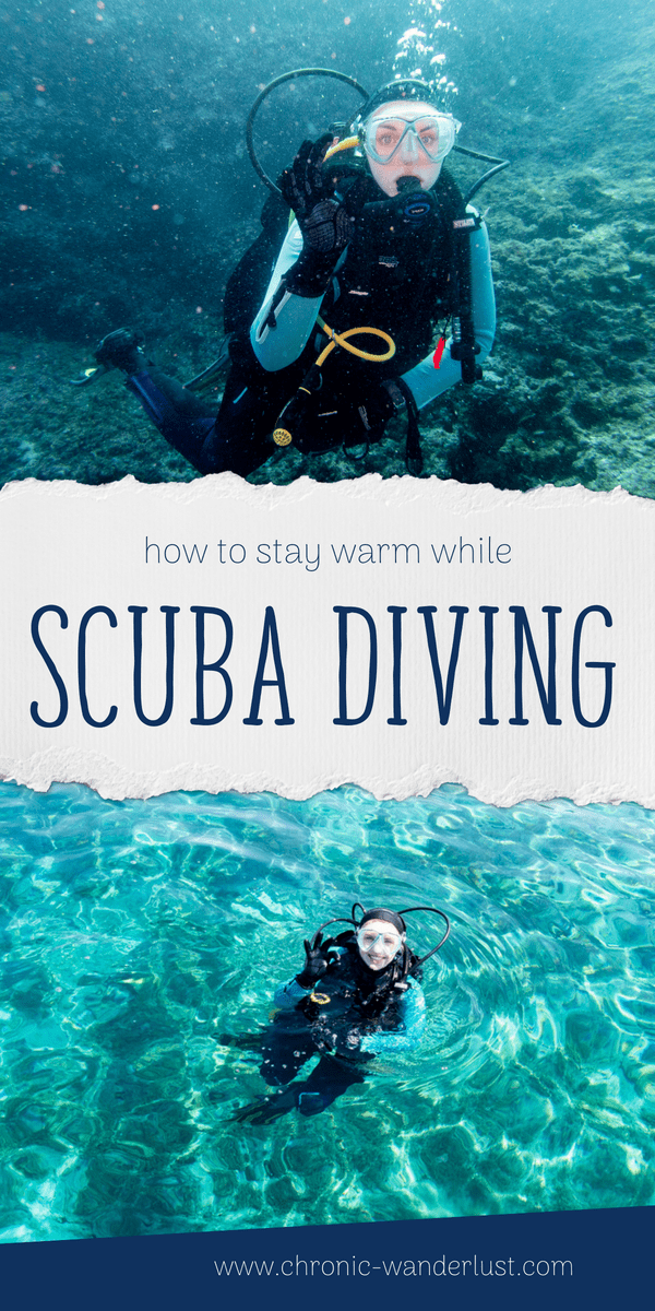 how to stay warm scuba diving