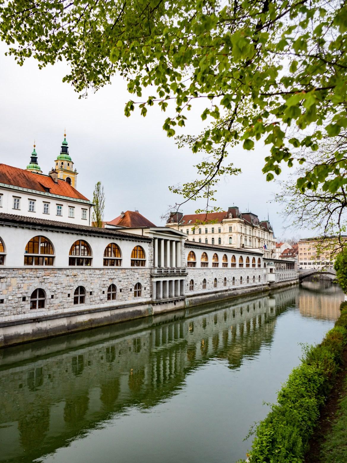 Slowenien Roadtrip Laibach Ljubljana