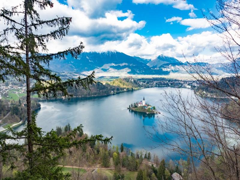 Slowenien Roadtrip Bleder See Lake Bled