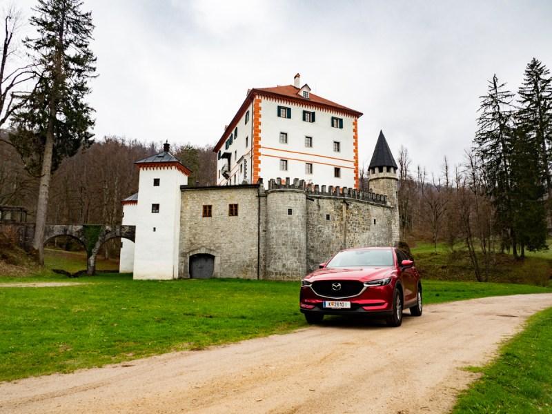 Slowenien Roadtrip Krainer Schneeberg Grad Snežnik