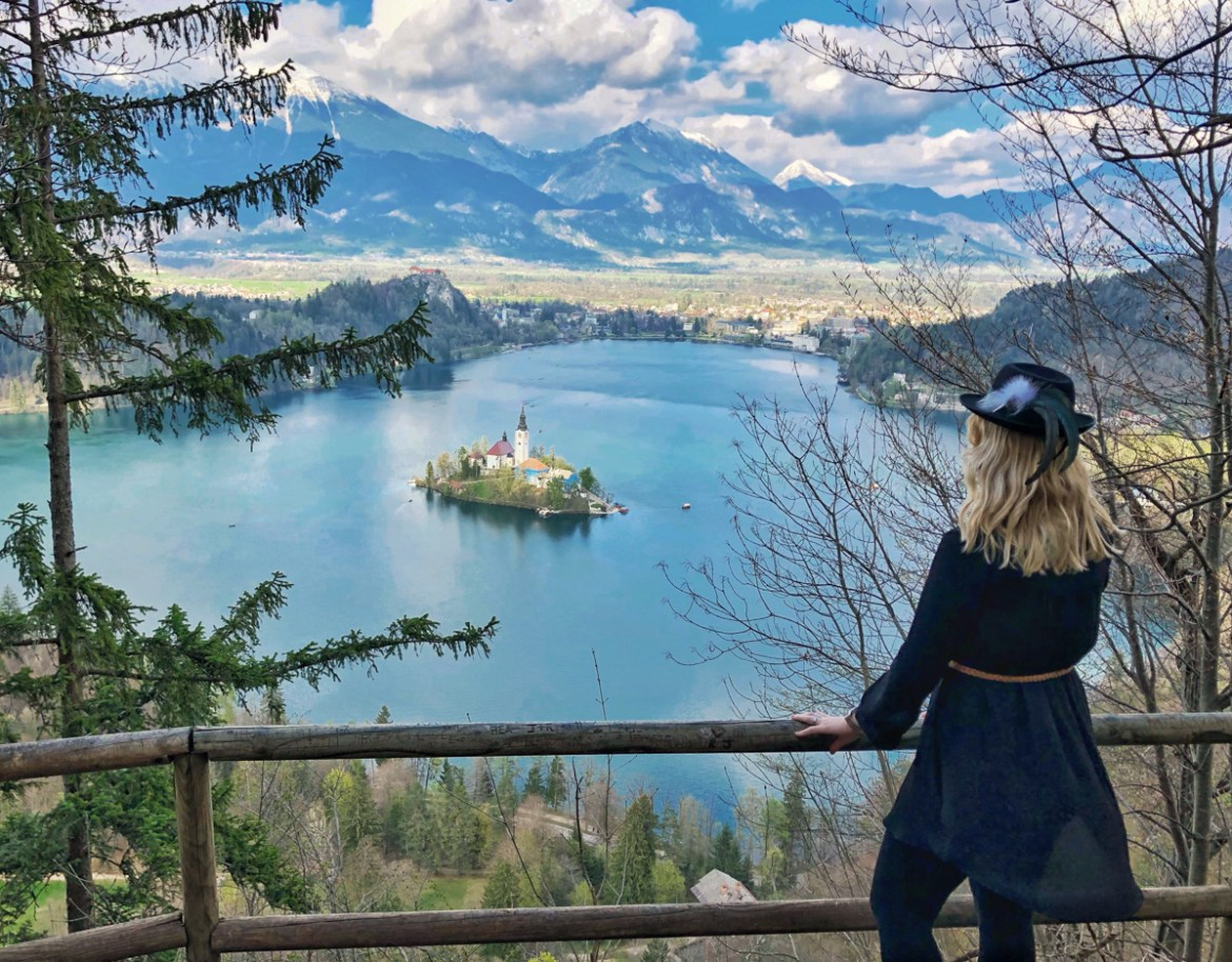 Slowenien Roadtrip Bleder See Lake Bled