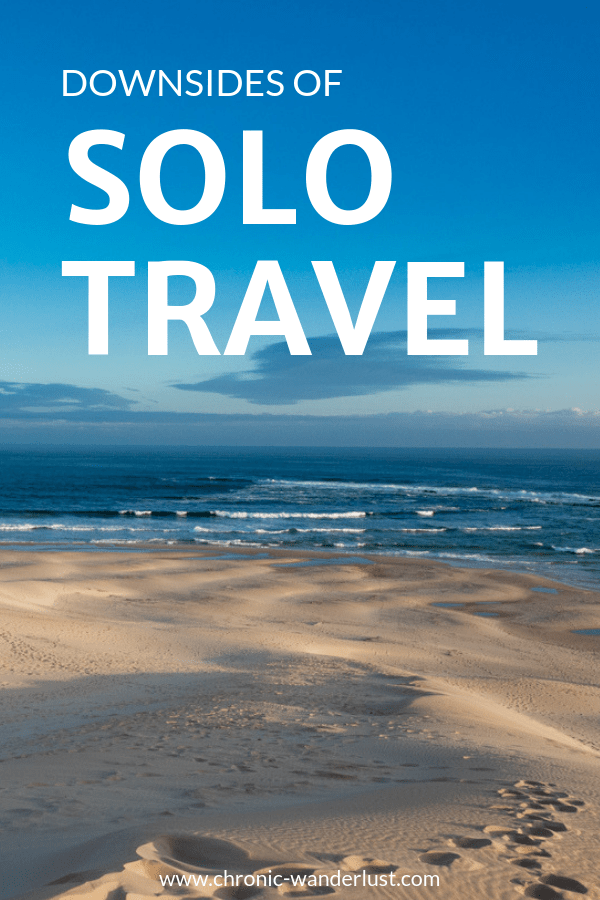 downsides of solo travel