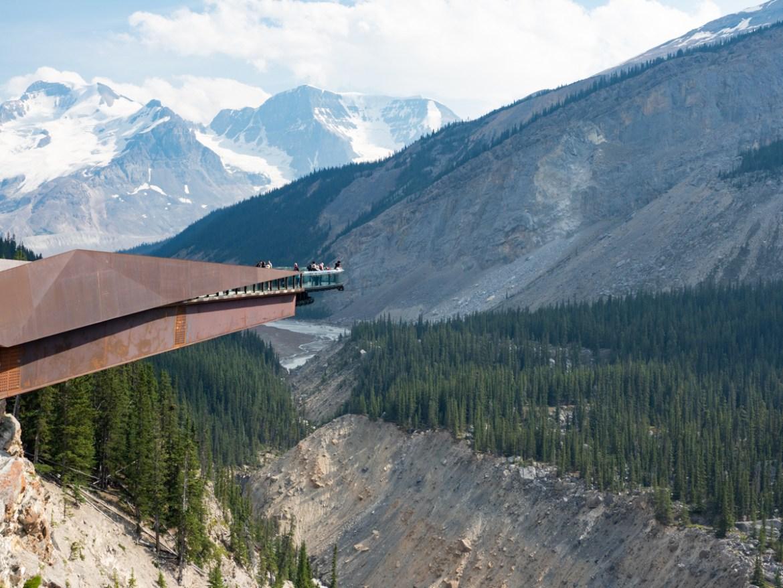 Alberta Roadtrip Aussichtspunkt Icefield Parkway
