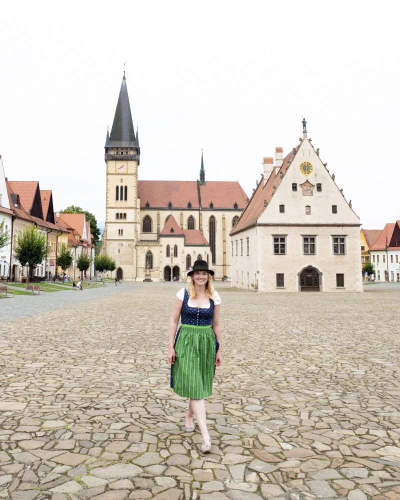 Bardejov Slowakei Roadtrip