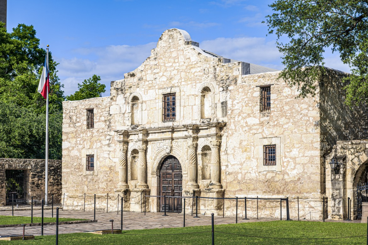 Bucket List Texas Alamo San Antonio