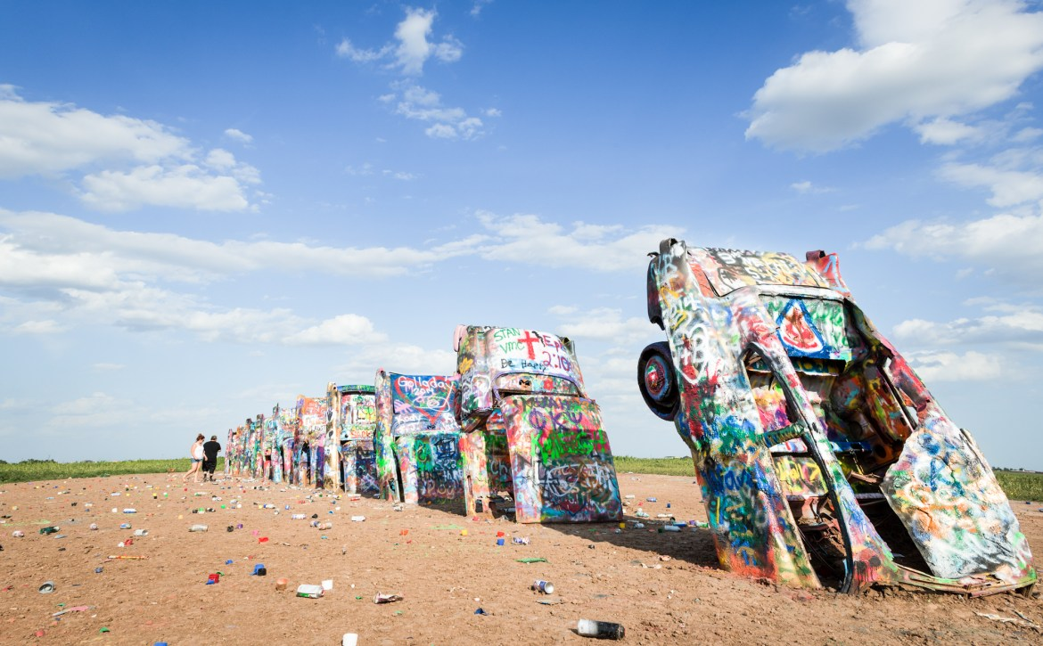 Bucket List Texas Cadillac Ranch