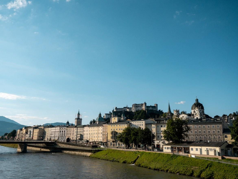 Makartsteg Salzburg viewpoint