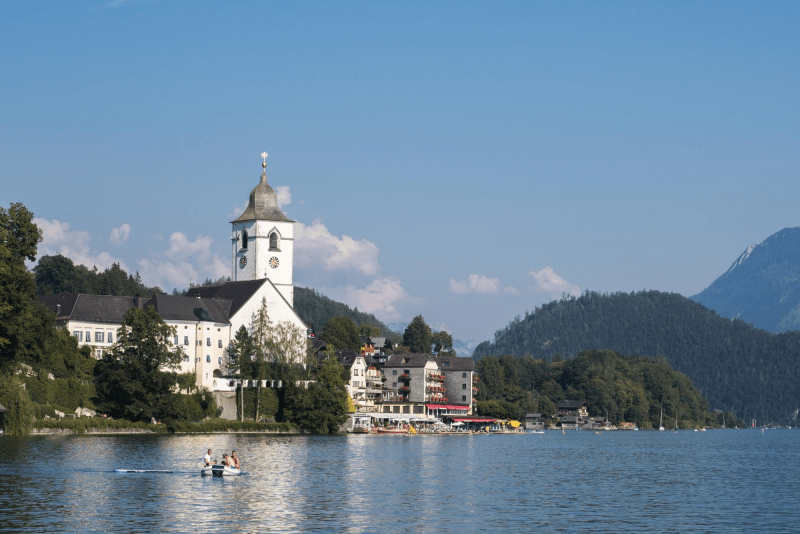 St Wolfgang Wolfgangsee Salzkammergut Sommerfrische