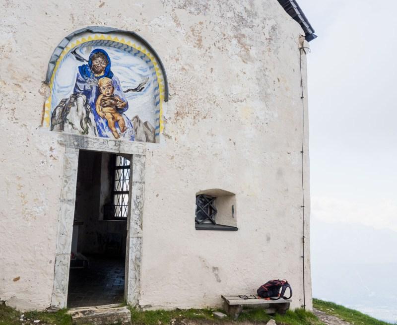 Windige Kapelle Dobratsch Schwarze Madonna