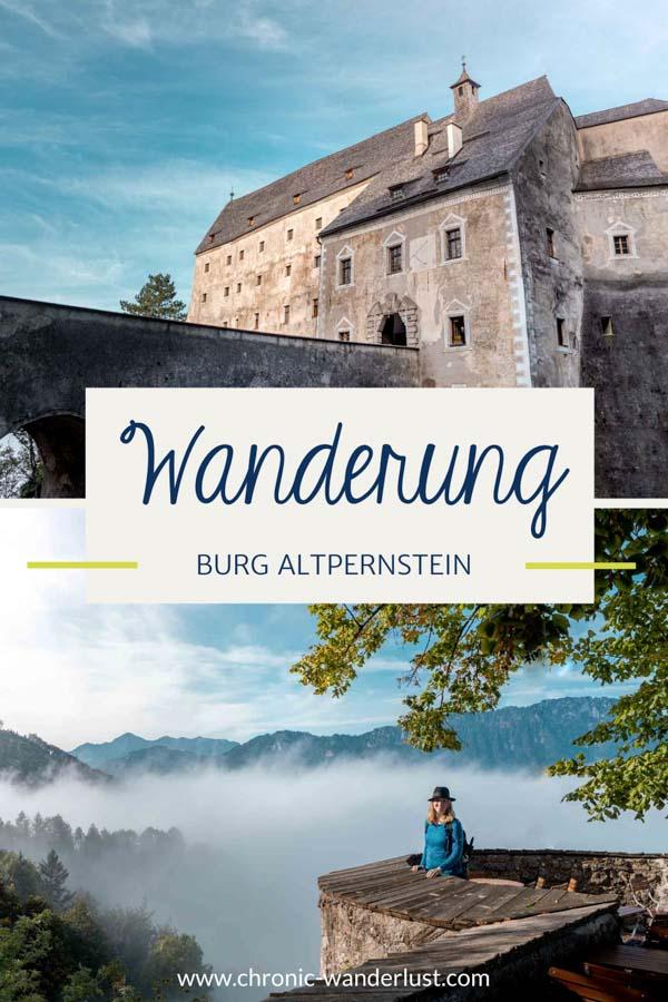 Wanderung Burg Altpernstein Oberoesterreich
