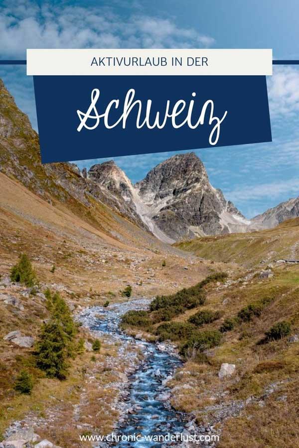 Aktivurlaub Schweiz