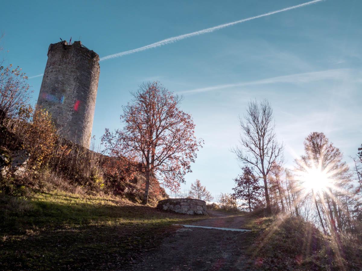 Waxenberg Ruine
