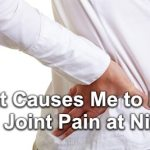 What Causes Me to Have Hip Joint Pain at Night