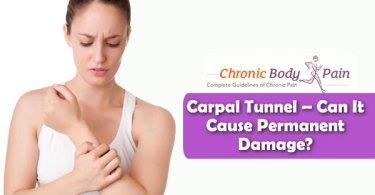 can carpal tunnel cause permanent nerve damage