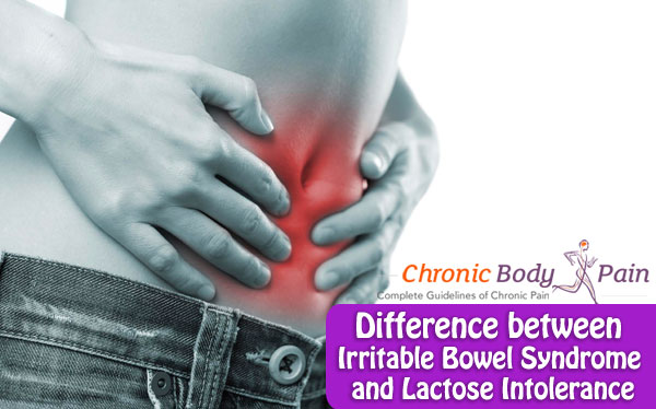 Difference between Irritable Bowel Syndrome and Lactose Intolerance