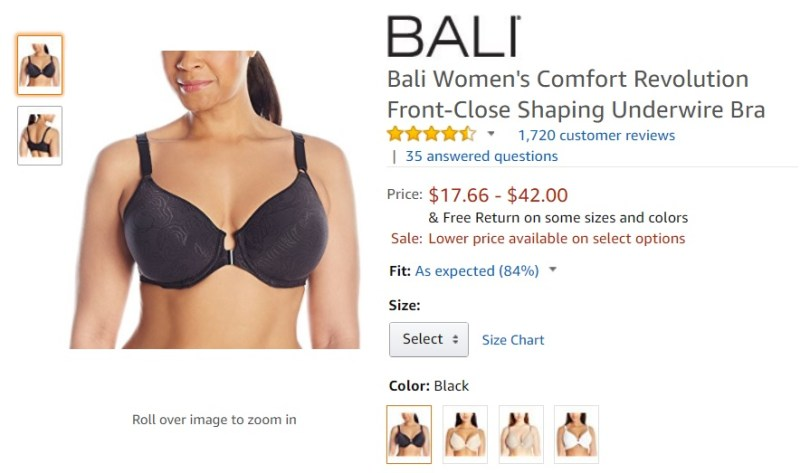 Supportive Bras for Back Pain amazon