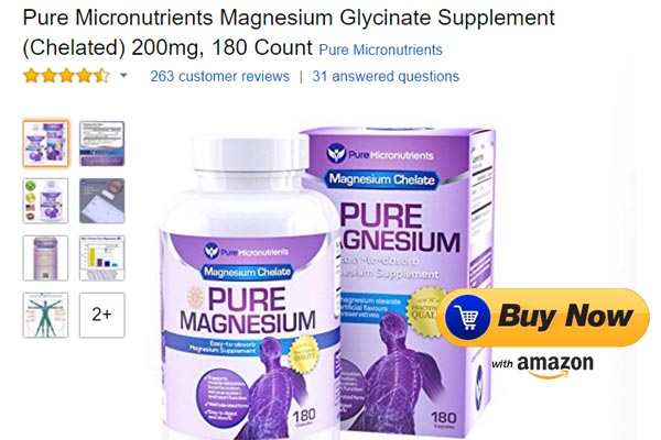 magnesium supplement for muscle spams