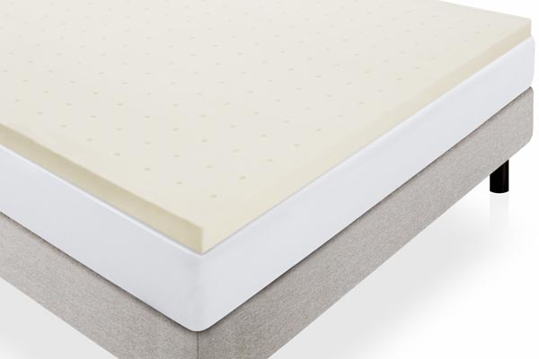 Lucid 2-Inch Ventilated Memory Foam Mattress Topper review