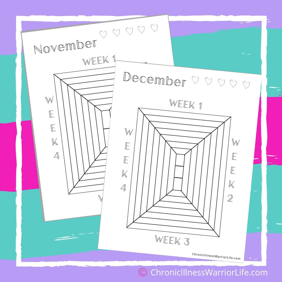 Printable Weekly Mood Trackers For Mental Health