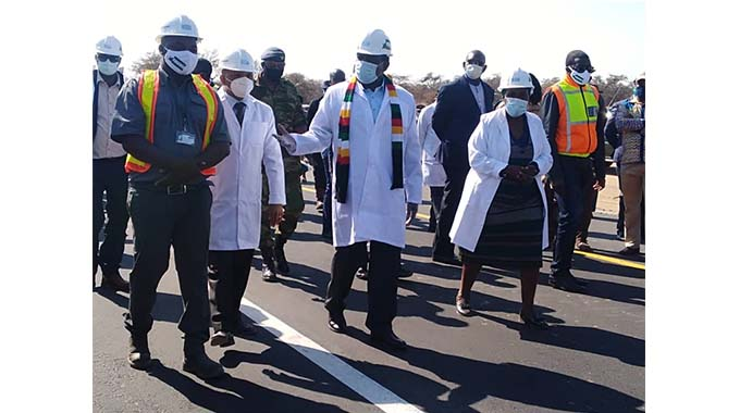 Beitbridge-Harare-Chirundu Road upgrade to be completed by 2022