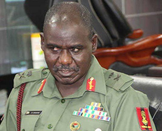 Nigeria's Chief of Army Staff, Lt.-Gen. Tukur Buratai