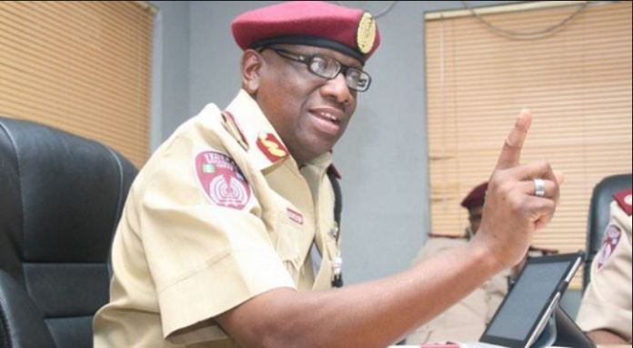 FRSC Corps Marshal, Boboye Opeyemi has been reappointed for a second term in office by President Buhari