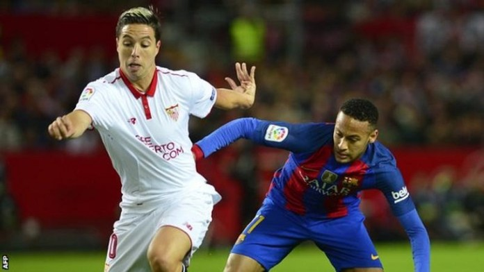Samir Nasri is expected to undergo medical at West Ham Photo: AFP