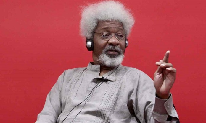 Prof Wole Soyinka says Chief Olusegun Obasanjo is the greatest hypocritical leader Nigeria has ever produced Photo: EPA