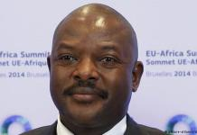 President of Burundi, Pierre Nkurunziza