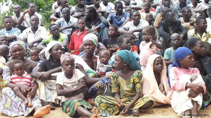 Over 20,000 Nigerians have fled Nigeria to Niger Photo: UNHCR