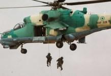 Nigerian Air Force bombarded bandits logistics in Kaduna, Katsina