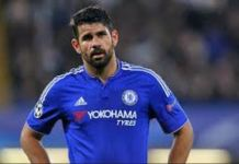 Diego Costa left out of chelsea ucl squad