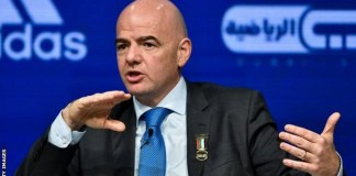 FIFA President, Gianni Infantino is pondering five substitutions