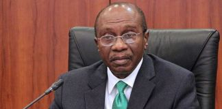 CBN Governor Godwin Emefiele announed a N1.1 trillion stimulus plan