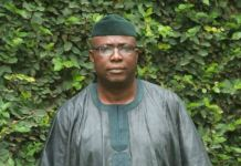 Senator Babafemi Ojudu, Special Adviser to the President on Political Matters APC