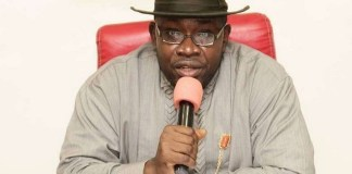 Former Bayelsa governor, Seriake Dickson was elected senator in the bye-elections