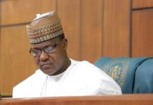 Honourable Yakubu Dogara says the House of Reps is not in any process to impeach Vice President Yemi Osinbajo