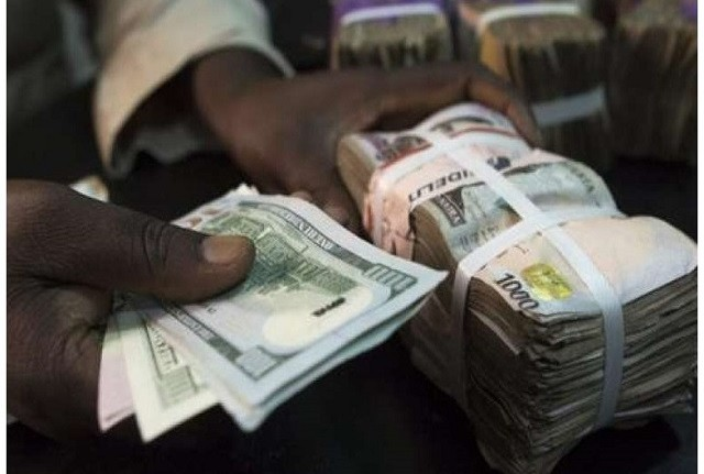 The naira has appreciated against the dollar