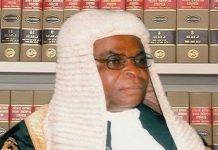 Chief Justice of Nigeria, Walter Onnoghen: to be sworn in today by Osinbajo
