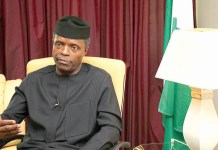 Acting President Yemi Osinbajo swears in new ministers