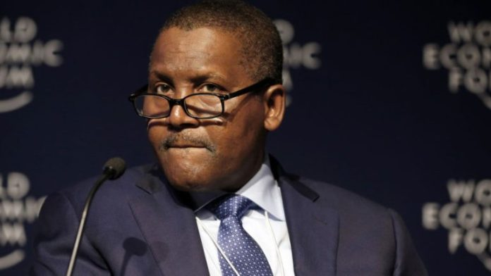 Aliko Dangote, Arsenal