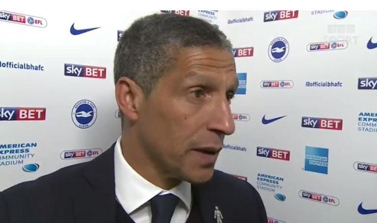 Chris Hughton has been sacked by Brighton